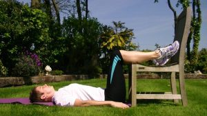 Ease back pain with chair