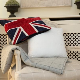 Deluxe Sittingwell® Feather Back Support Cushion For Sofa's