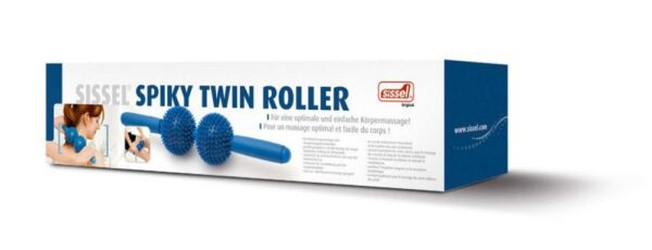Sissel Spiky Twin Roller For self massage 1
