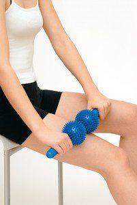Sissel Spiky twin roller hand held massage stick