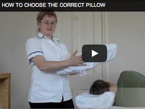 How to choose the correct pillow