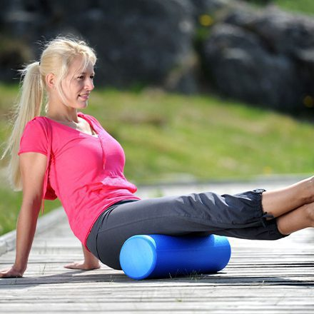 foam rollers and self massage image